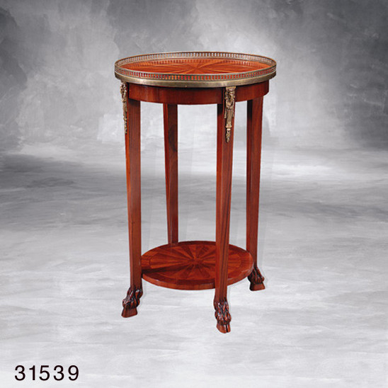 """French Side Table - Inlaid"" - kleiner Tisch"