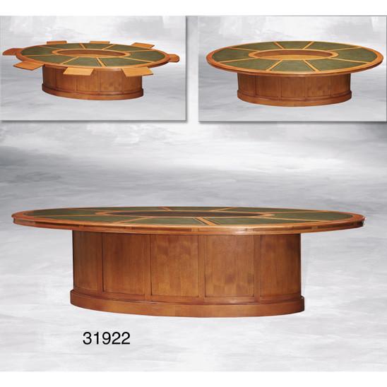 Boardroom Table, leather top Konferenztisch für 8 Personen