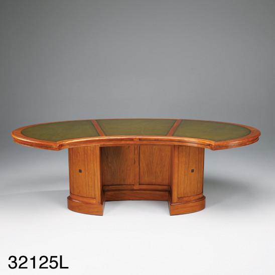 Schreibtisch - Boardroom Writing Desk Leder