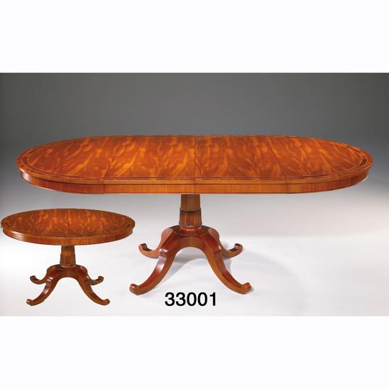 Runder Esstisch mit 2 Flächen