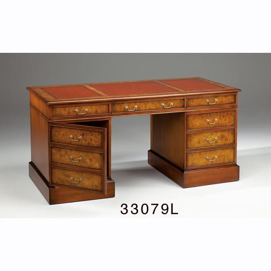 Englischer Pedestal Schreibtisch