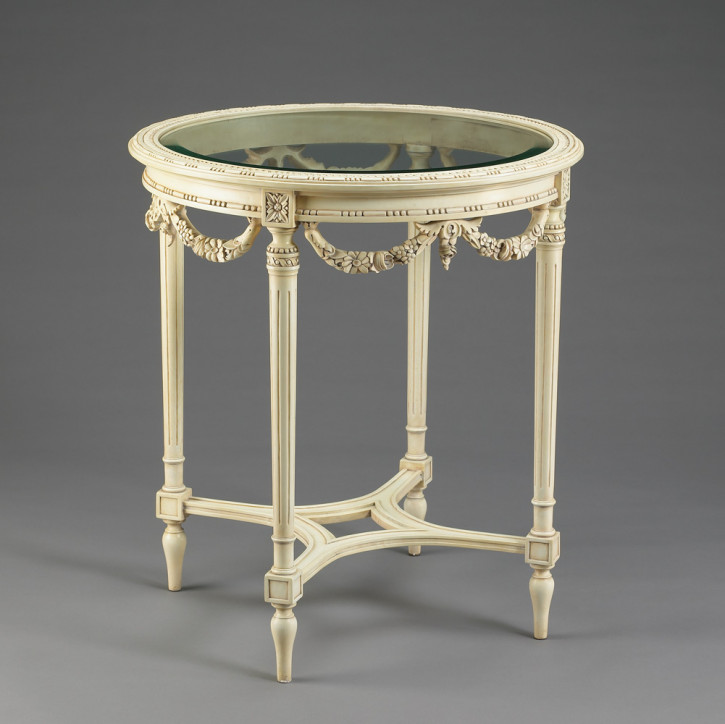 """Carved Centre Table"" - kleiner Tisch"