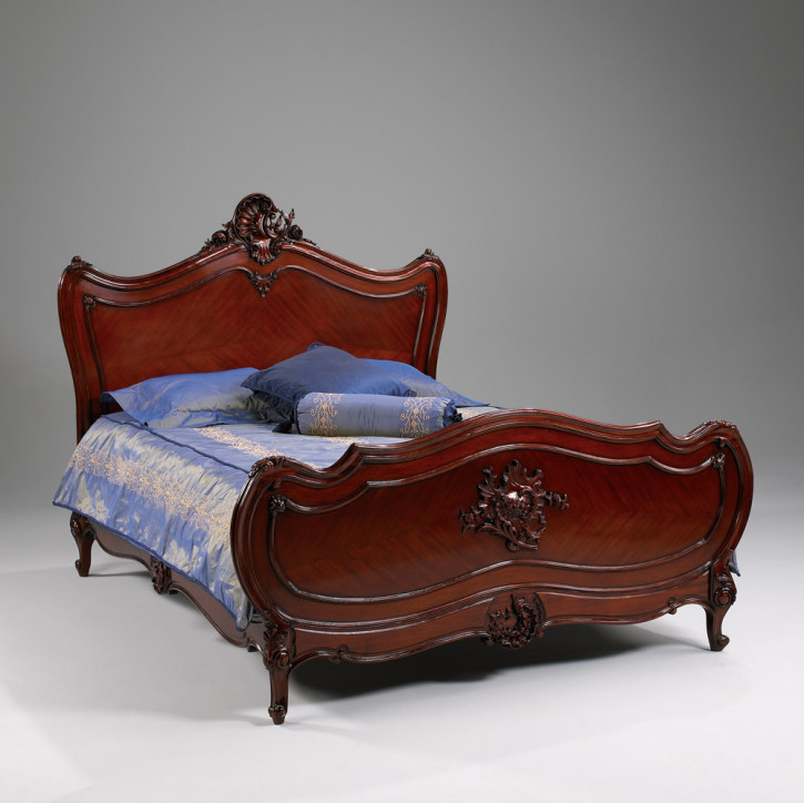 Louis XV Bett Queen Size