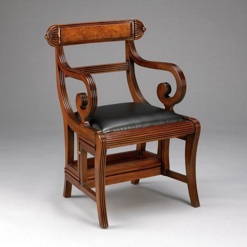 Englisch Regency Library Chair