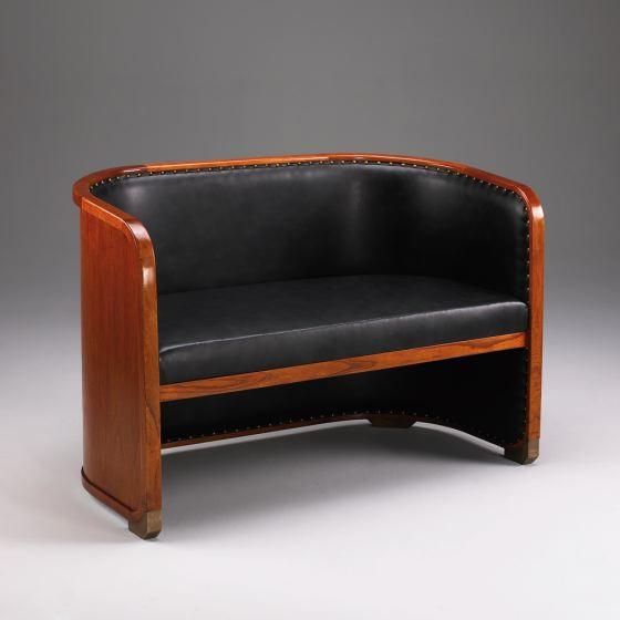 Globe Wernicke Club-Sofa LEDER