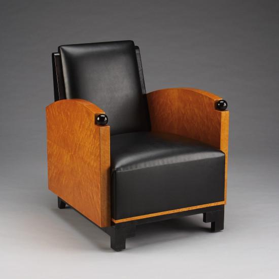 Deko Lounge Stuhl Kunstleder