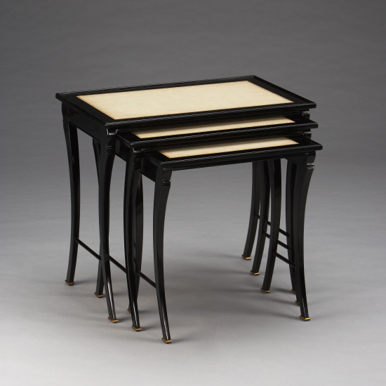Ebony Nesting Tables Sabre