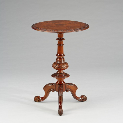 """Inlaid Round Table Arie"" - Kleiner Tisch"