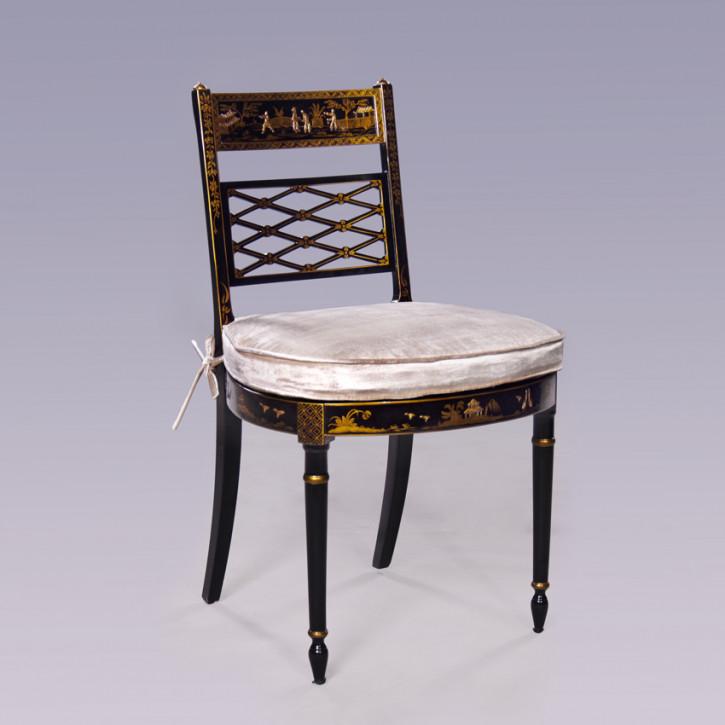 Chinoiserie Stuhl handbemalt