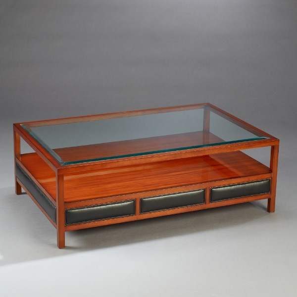 Kleiner Tisch - Coffee Table Amsterdam Leder