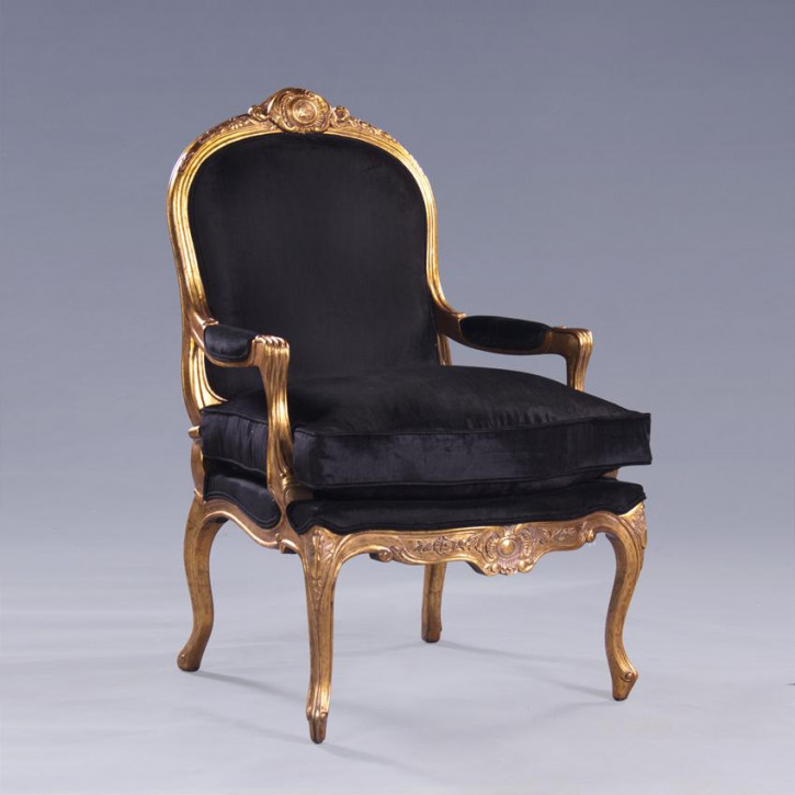 Louis XV Fauteuil with Pillow