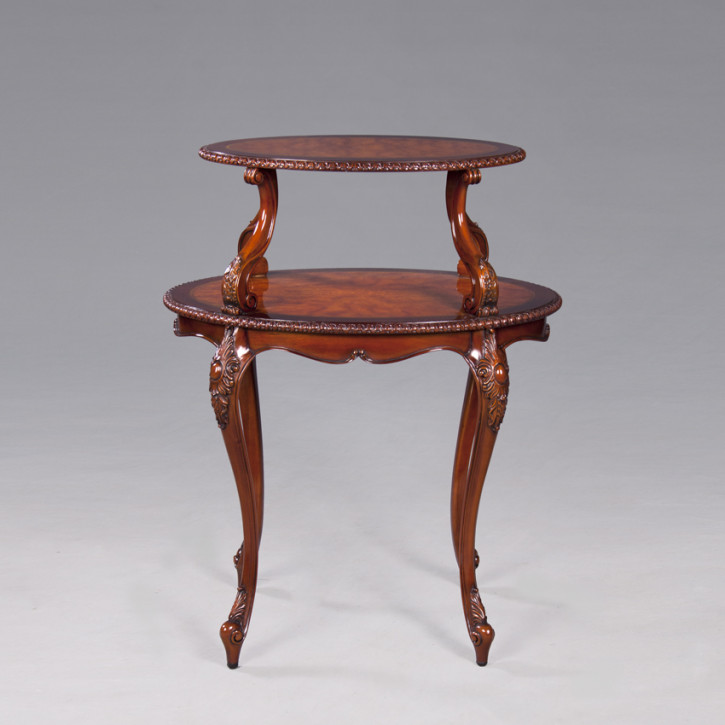 French Tier Table Carved