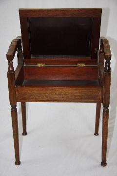 Piano Stuhl - Victorian