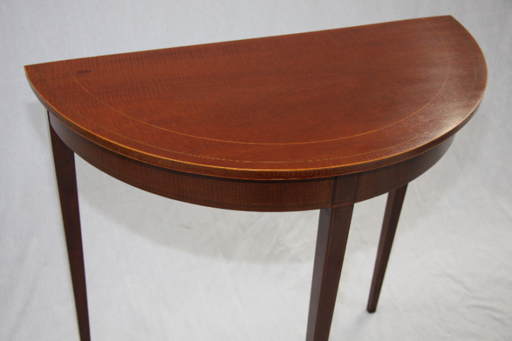 Demi Lune Table Edwardian