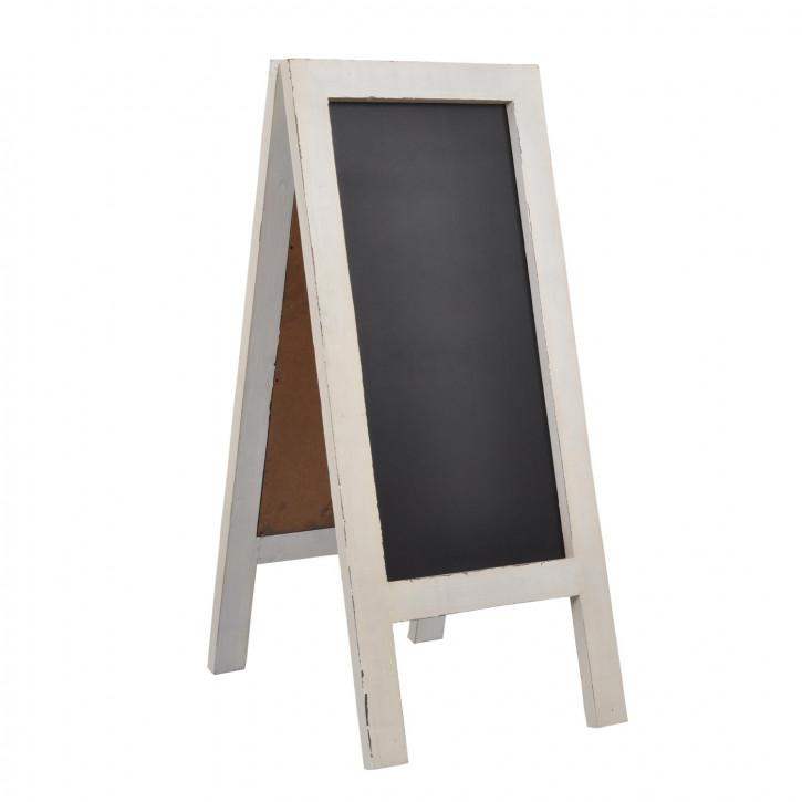 Kreidetafel ca. 100x43 cm Weiß