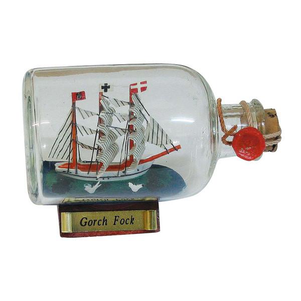 Flaschenschiff - Gorch Fock, L: 9cm