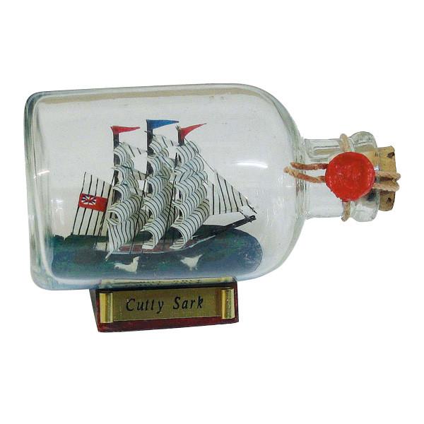 Flaschenschiff - Cutty Sark, L: 9cm