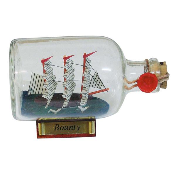 Flaschenschiff - Bounty, L: 9cm