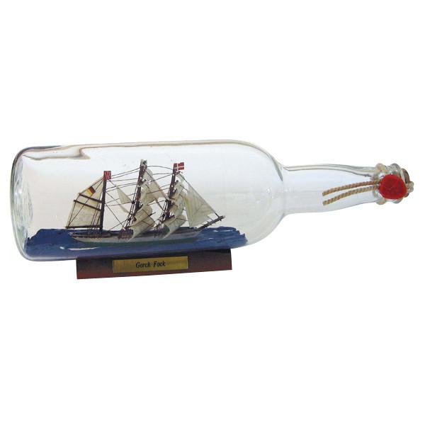 Flaschenschiff - Gorch Fock, 0,7L., L: 29cm