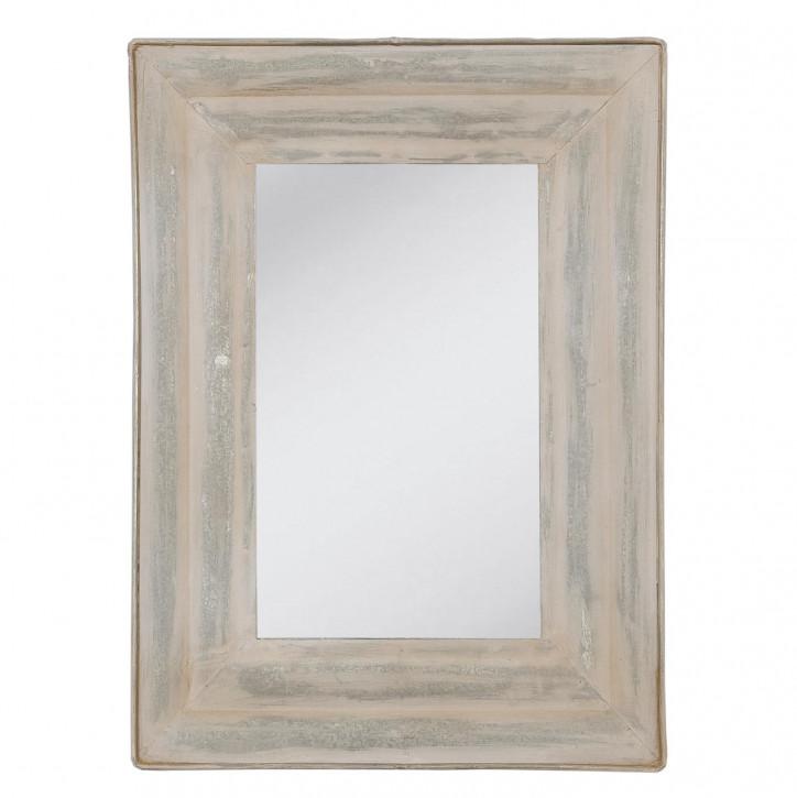 Spiegel mit großzügigem Rahmen