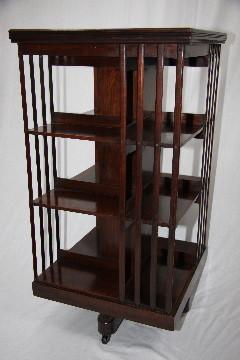 Revolving Bookcase victorian big size