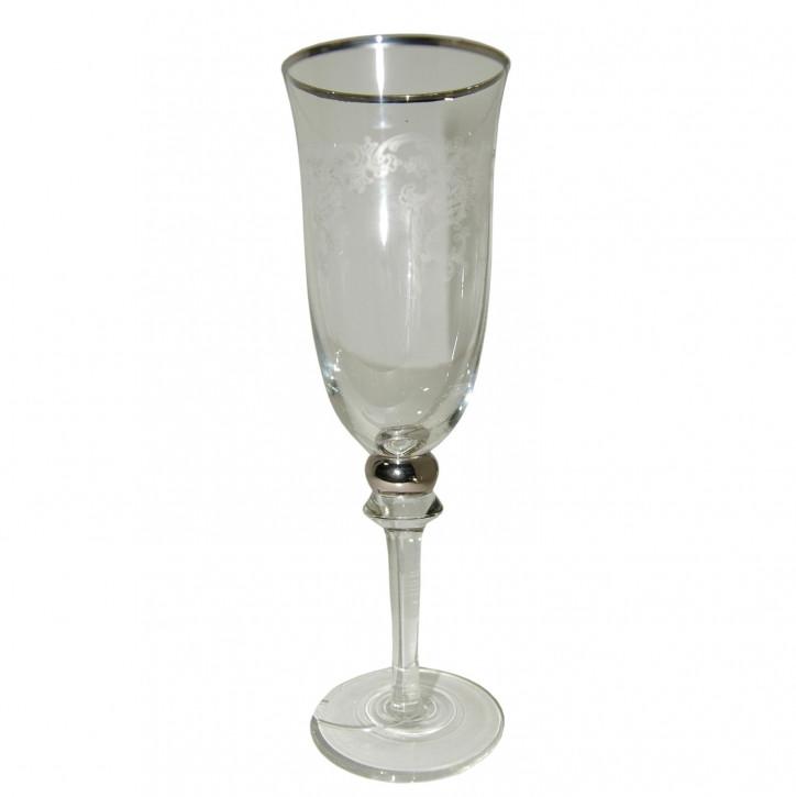 Champagner Glas ca. 7 x 21 cm