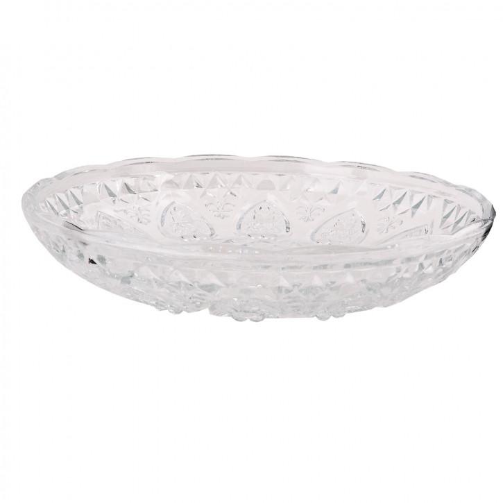 Teller Glas ca. Ø 30 x 6 cm