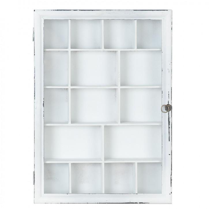 Schränkchen Weiß ca. 35 x 7 x 50 cm