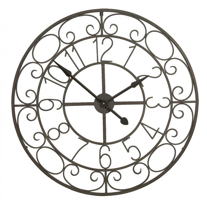 Uhr Ø 91x5 cm