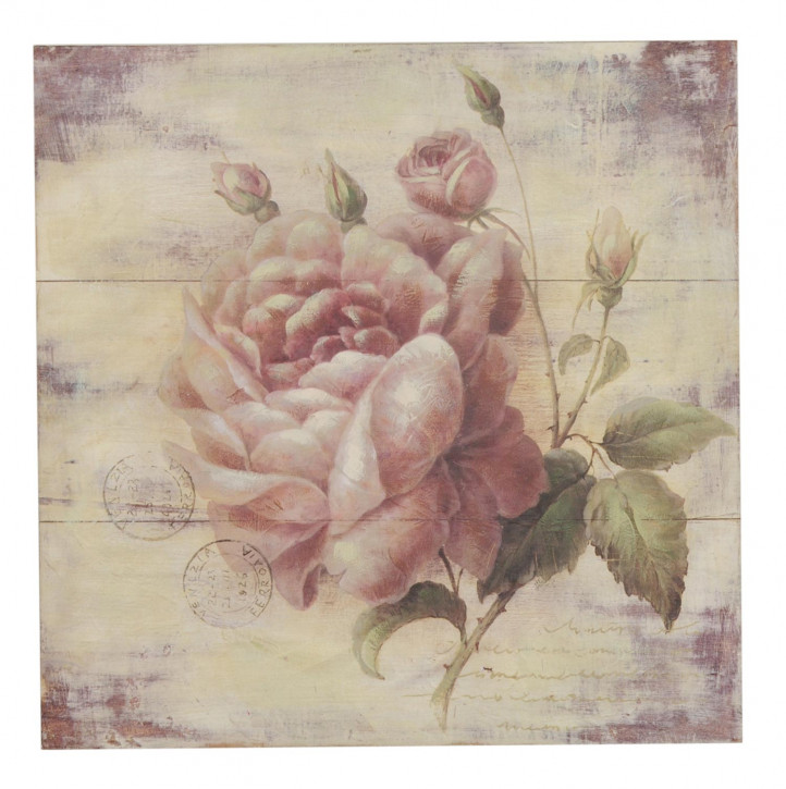 "Bild ""Blume"" 51*51*3cm"