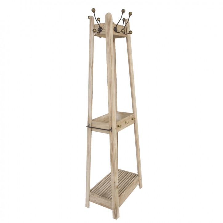 Garderobenständer aus Holz 179 cm