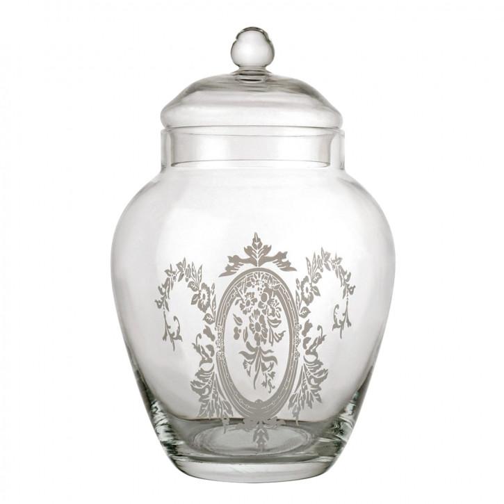 Vorratsglas mit Deckel Glas ca. Ø 12 x 21 cm