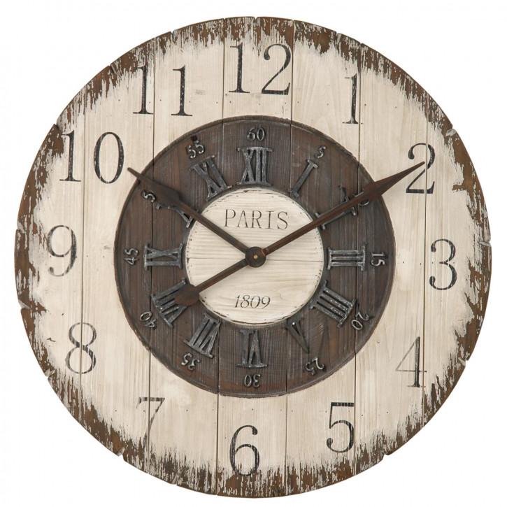 Uhr Ø 80x5 cm / 1xC