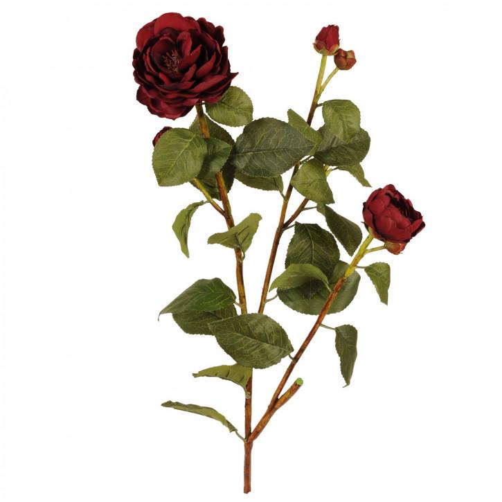Deko Rose rot 90cm