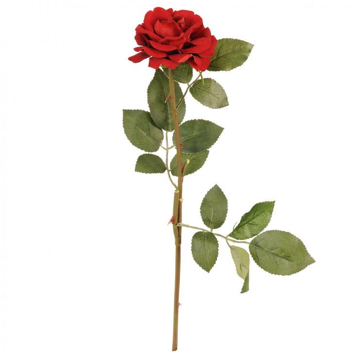 Deko Rose rot 70cm