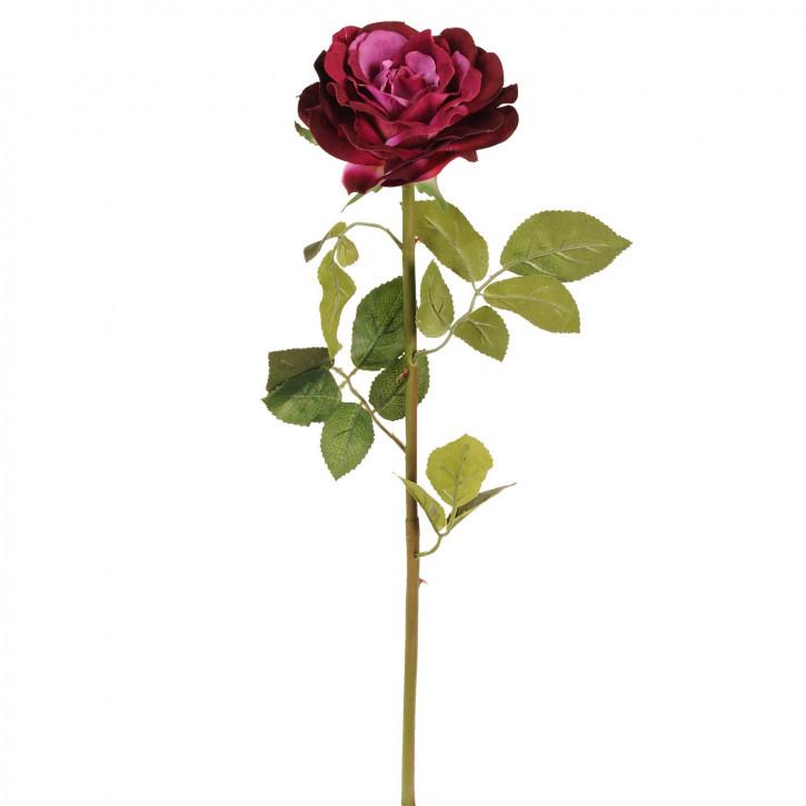 Deko Rose rot 80cm