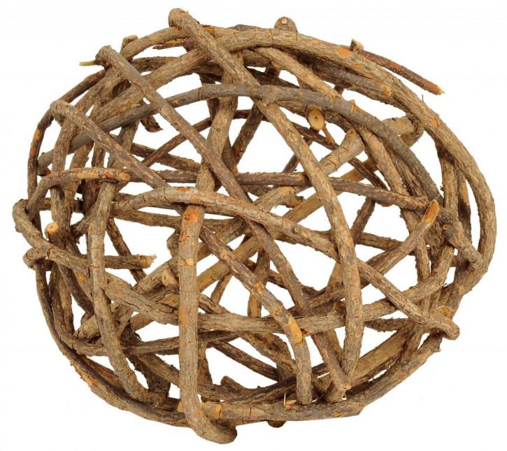 Grober Naturholz Ball 40cm