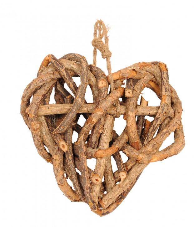 Rustikales Holz Herz 20cm
