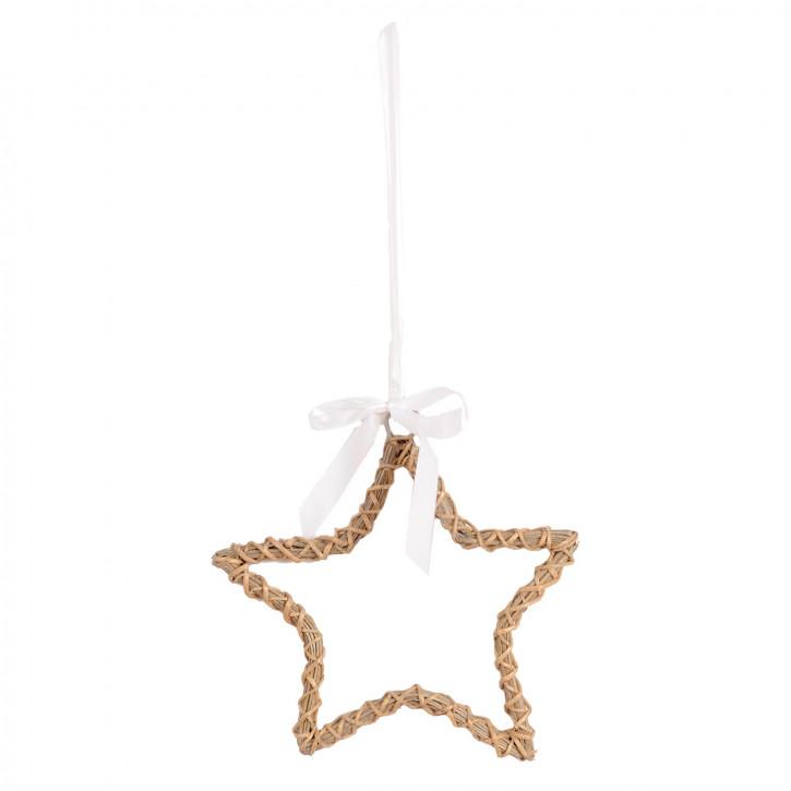 Stern zum Aufhängen 25*2.5cm