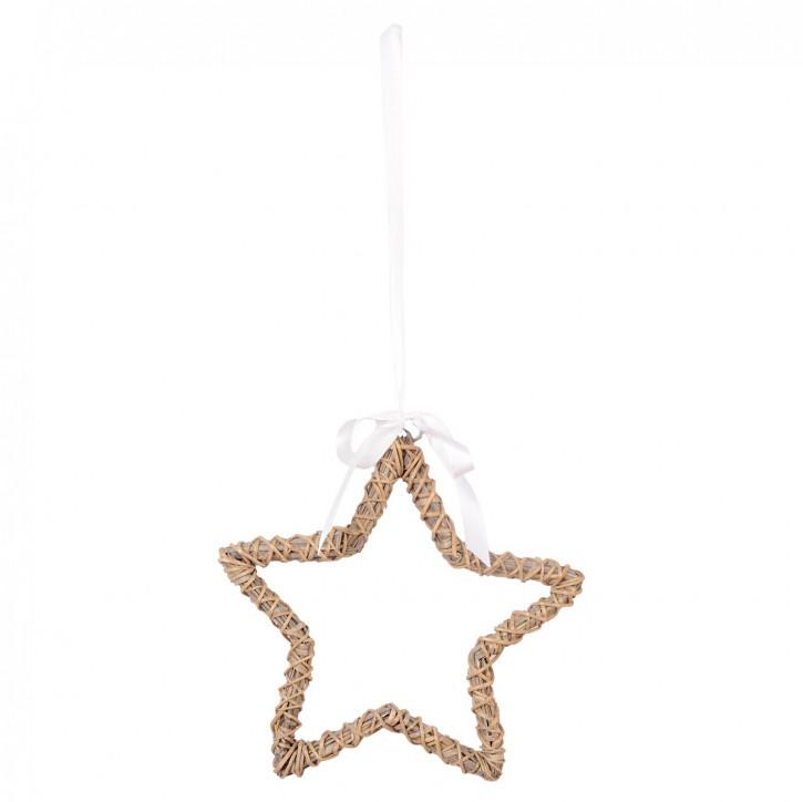 Stern zum Aufhängen 30*2.5cm