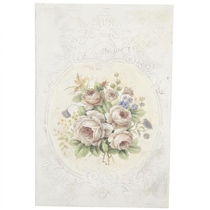 Bild mit Blumenstraussmotiv