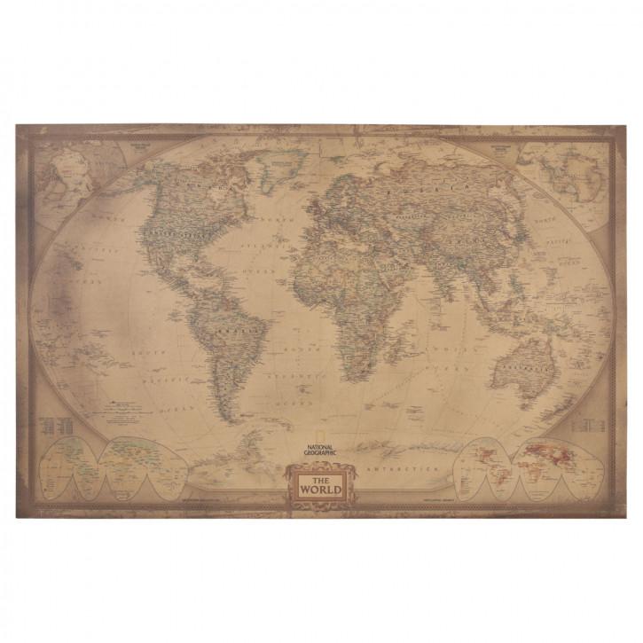 Bild Die Welt ca. 115 x 75 cm