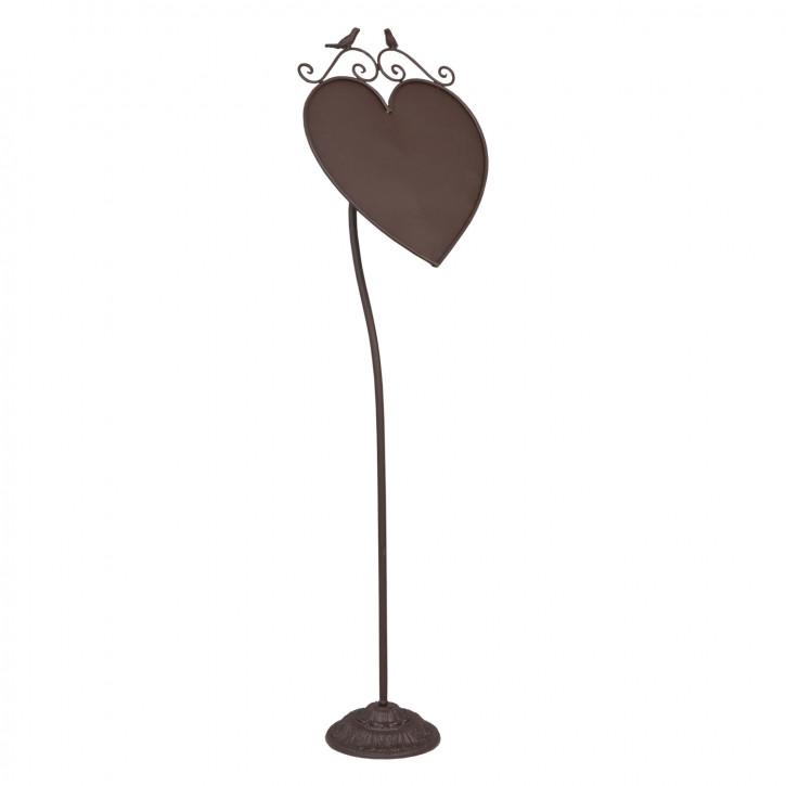 Ständer Herz ca. 30 x 18 x 106 cm