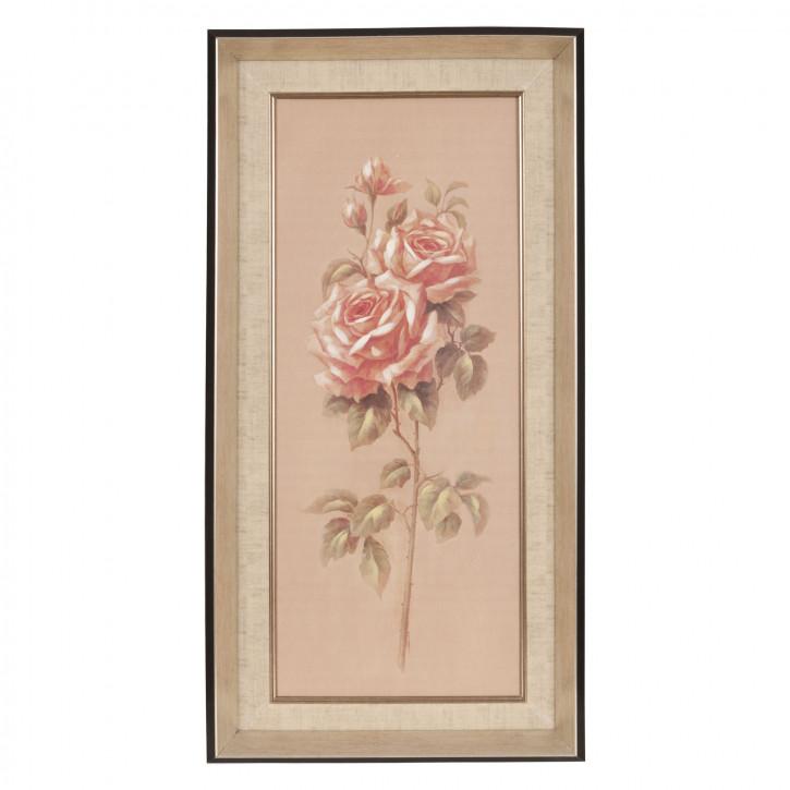 Bild Rose ca. 35 x 70 x 3 cm