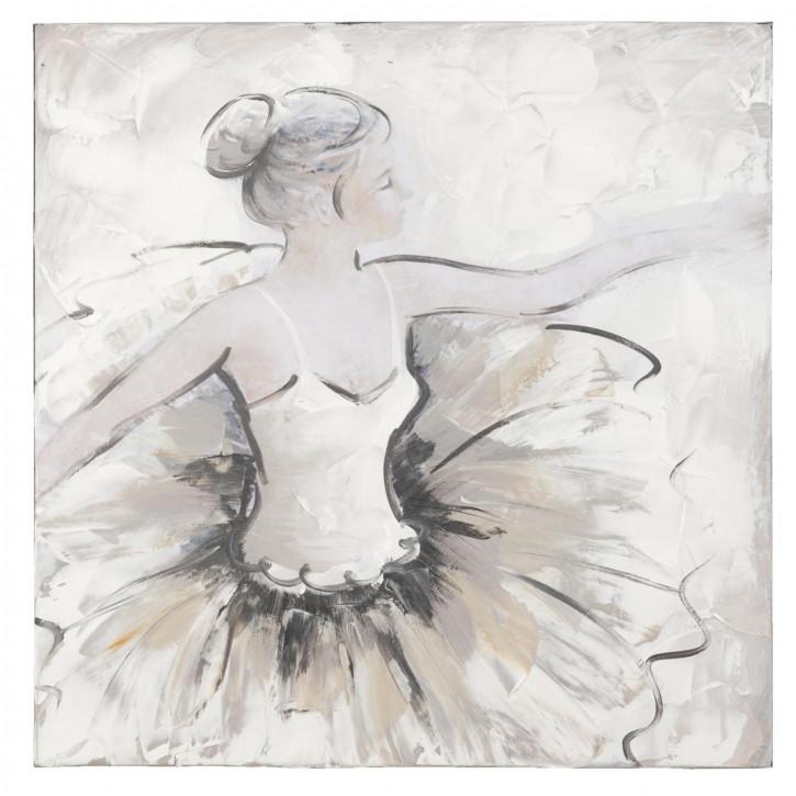 Bild Gemälde Ballerina ca. 60 x 60 cm