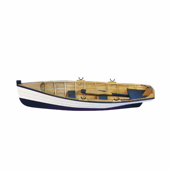 Ruderboot, Holz, L: 30cm, H: 5cm