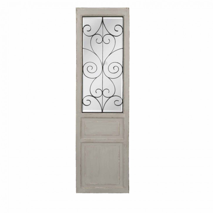 Dekorativer Fensterspiegel, 1,80m hoch