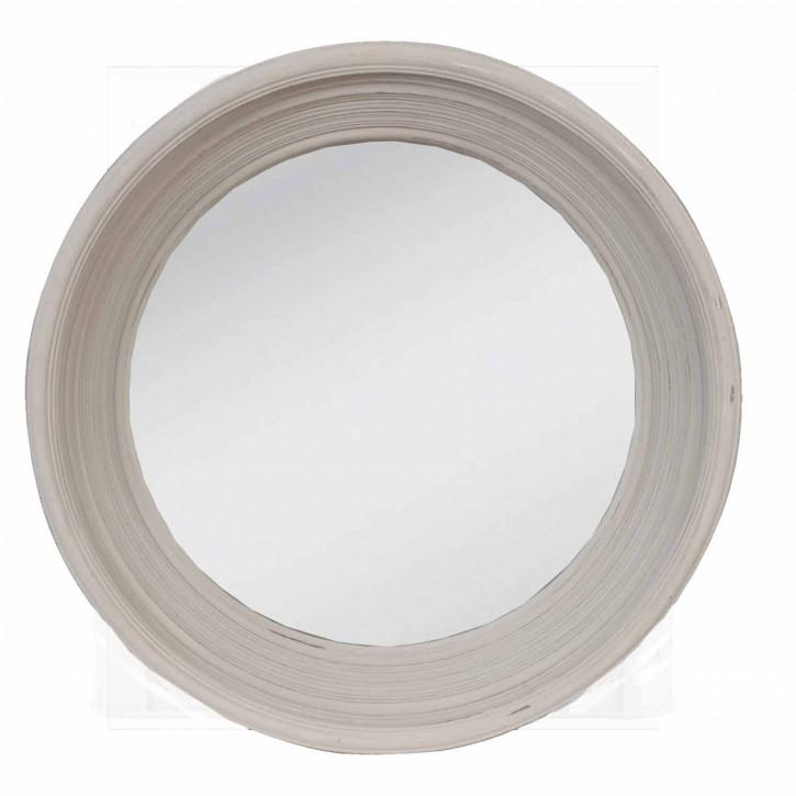 Runder Spiegel mit Rahmen