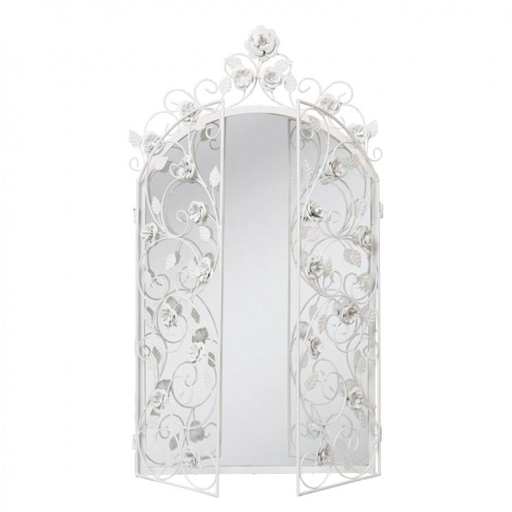Wunderschöner weißer Spiegel 43*75cm
