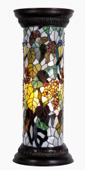 Säulenlampe im Tiffany-Stil 78 x 31 cm